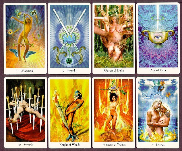 Interesting Deck The Cosmic Tribe Tarot Deck Book Set By Stevee