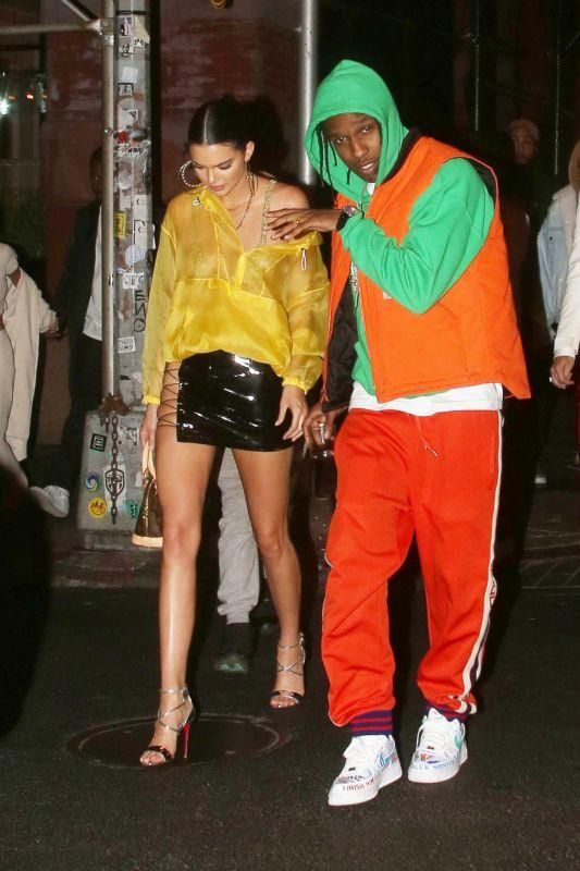 Kendall Jenner wearing Christian Louboutin Choca Sandals 3b1ac15db0c37