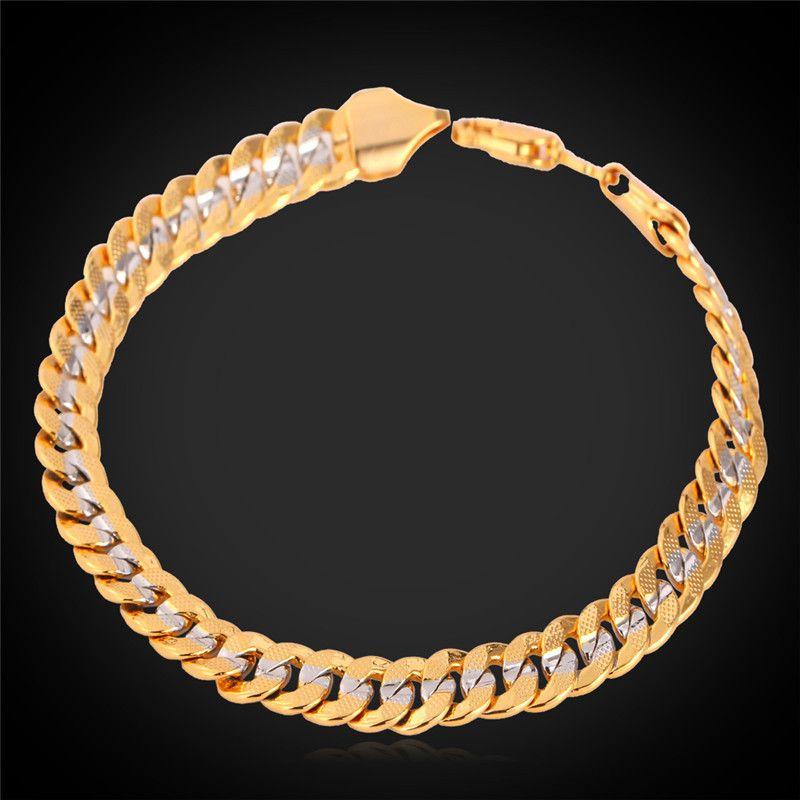 mens gold bracelets - Google Search | Bracelets for men ...
