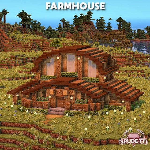 A farmhouse that I built :)