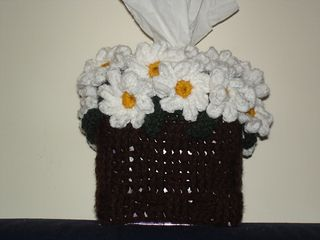 Basket of Daisies pattern by Patricia Hall Inspiration only for Bathroom