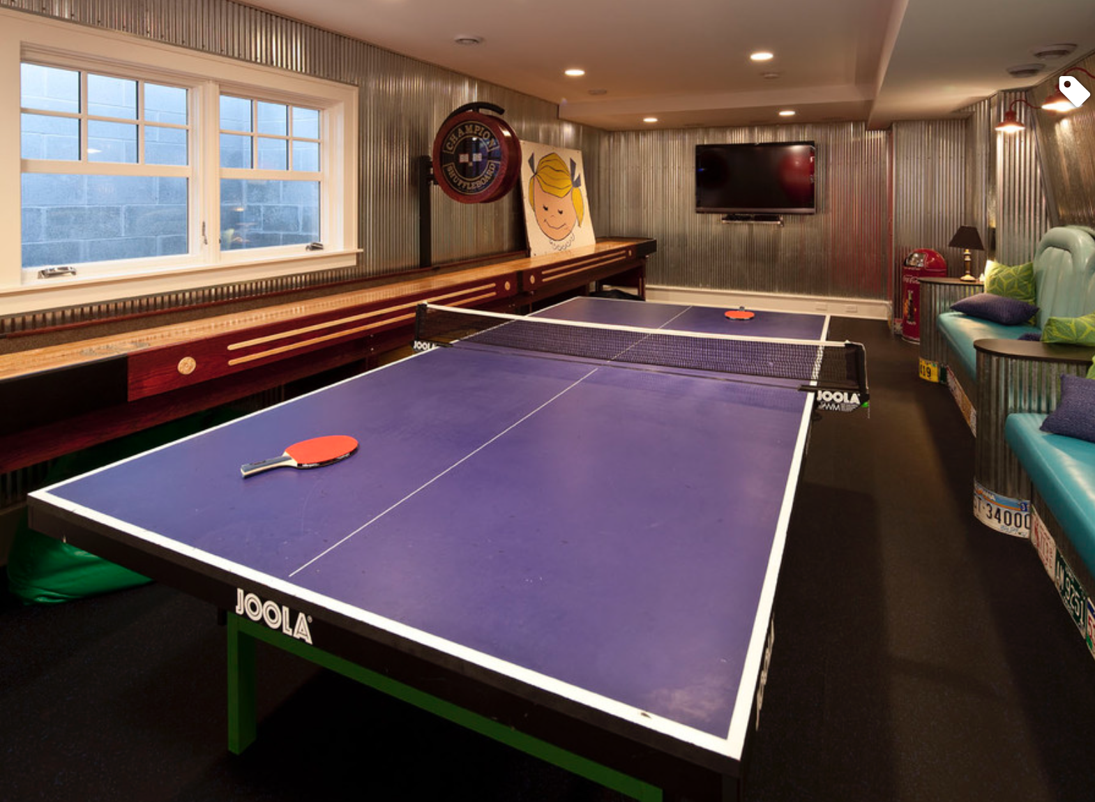 Https Www Houzz Com Photo 800669 Game Room Traditional Family Room Game Room Design Ping Pong Table Recreational Room