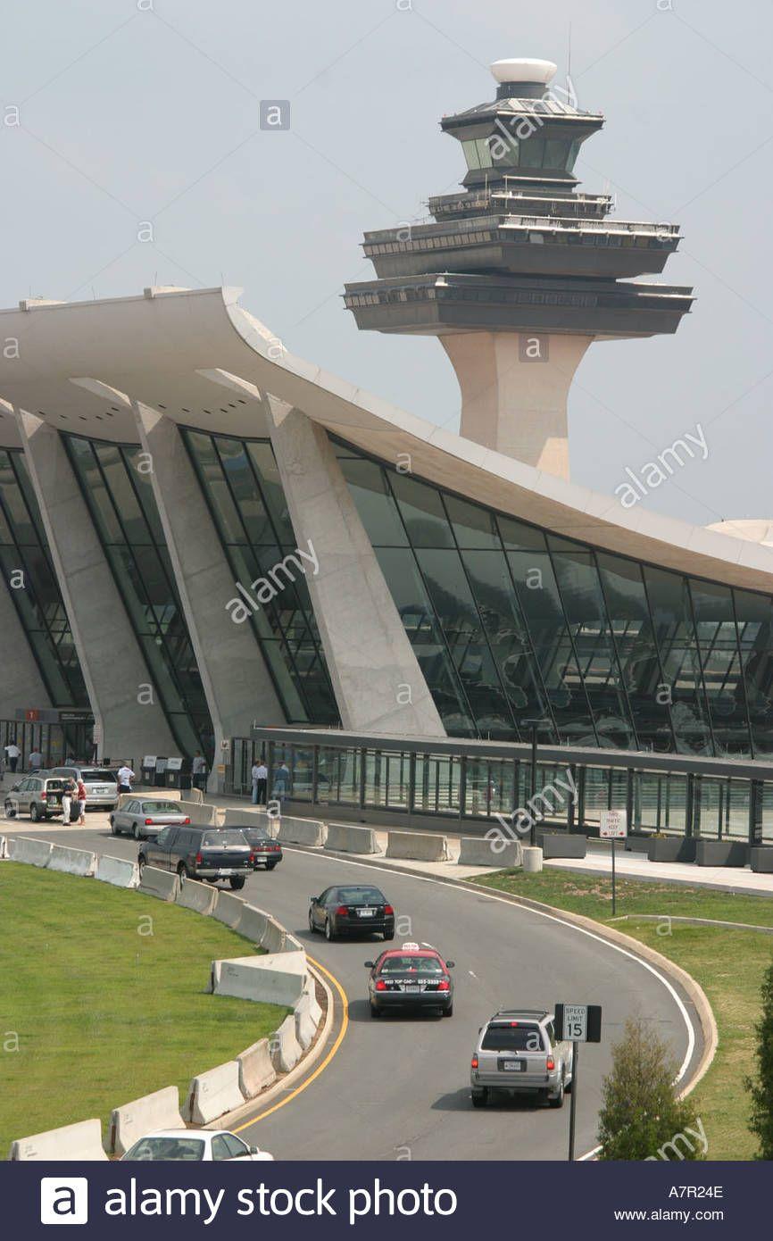 Virginia Washington Dulles Airport terminal air traffic