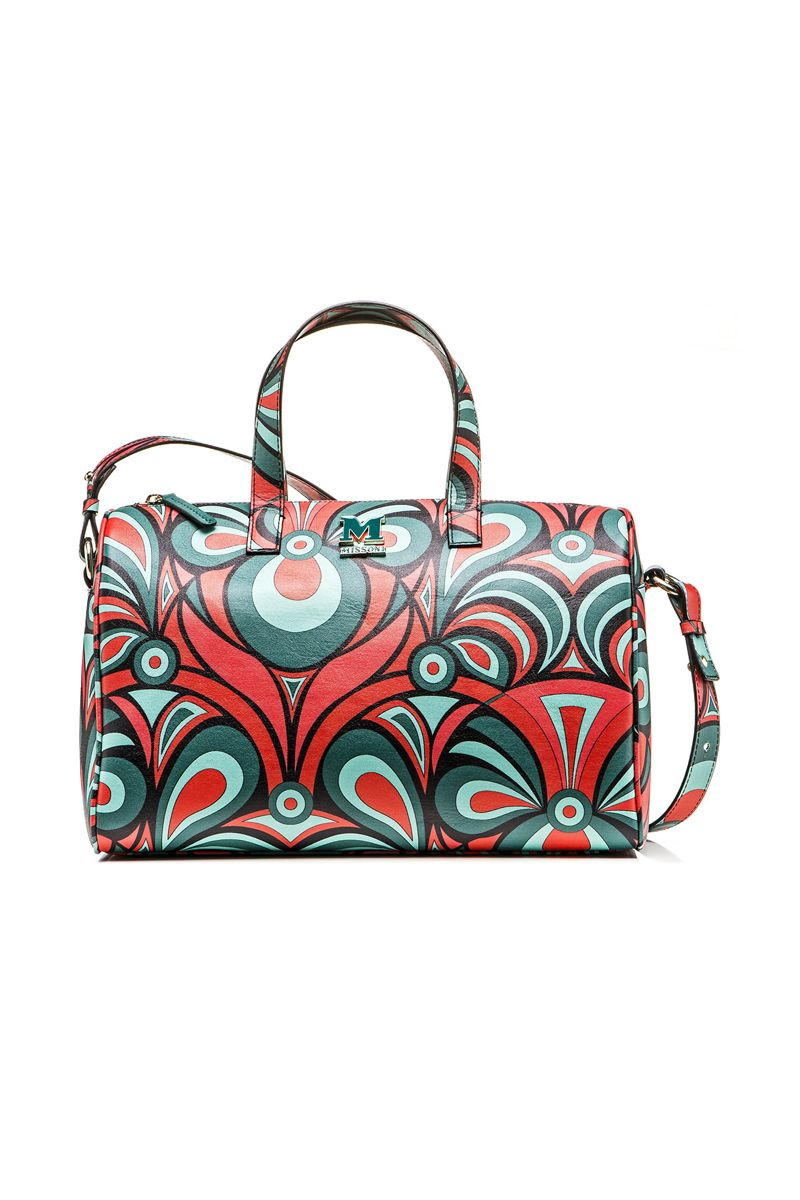 M-Missoni - PANSY PRINT TRUNK BAG