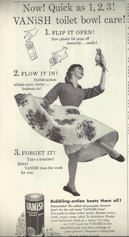 """Vanish"" Toilet Bowl Cleaner Ad"