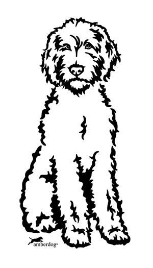 Related Image Silhouette Labradoodle Pencil Drawings