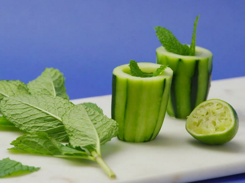 How to Make Cucumber Gimlet Shots #RueNow