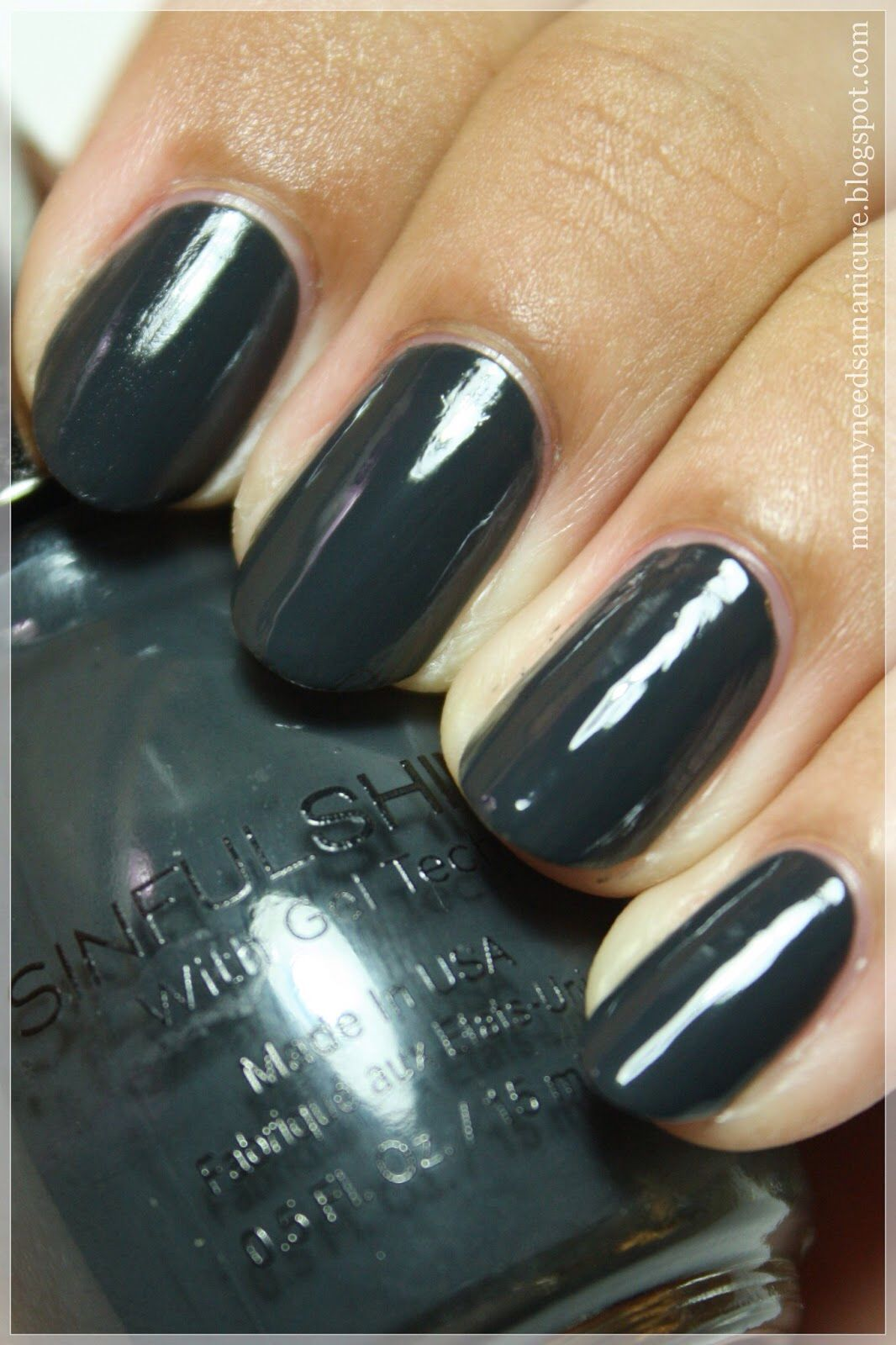 Sinful Shine Steel Reserve- my new favorite Fall nail color ...
