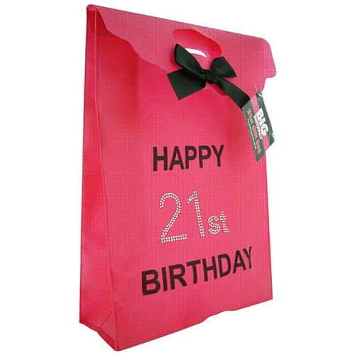 Happy 21st Birthday Parties Its Your Present Wrapping Gift