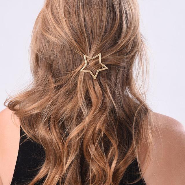 'star bright' hairpin 2 design