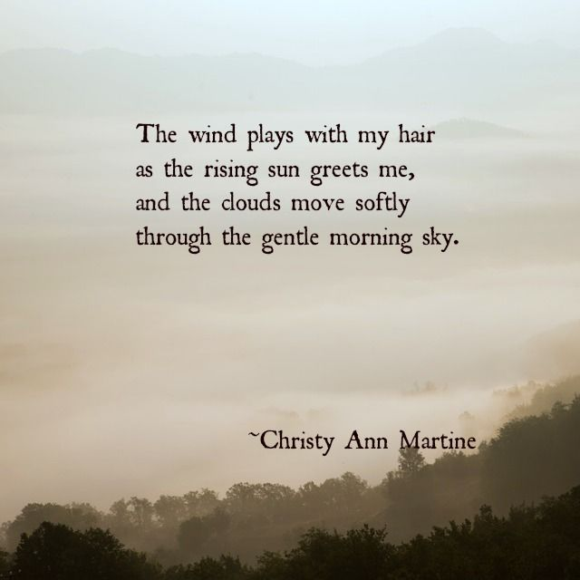 Morning Sky poem by Christy Ann Martine ~ Poems ~ Poetry ~ Quotes ...