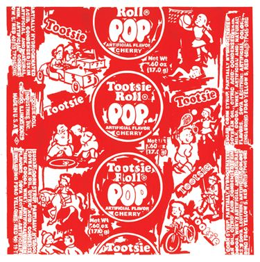 Love This Giant Version Of A Tootsie Pop Wrapper Artists I Love