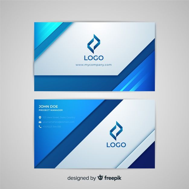 Abstract Business Card Template Business Cards Creative Free Business Card Templates Business Cards Layout
