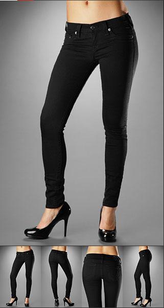 606a04eef8971 skinny jeans! True Religion - Women's Casey Legging in Black | My ...