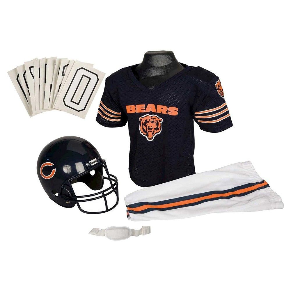 chicago bears youth football uniform