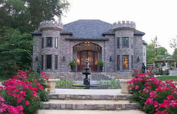 A Virtual Tour Of 9 Alabama Castles Castle House Plans Castle House Stone Houses