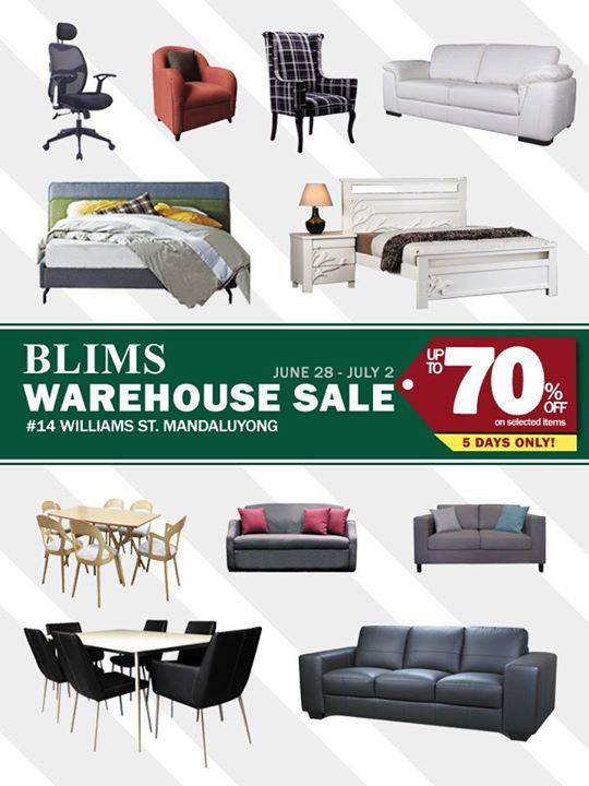 Get Great Deals Blims Warehouse