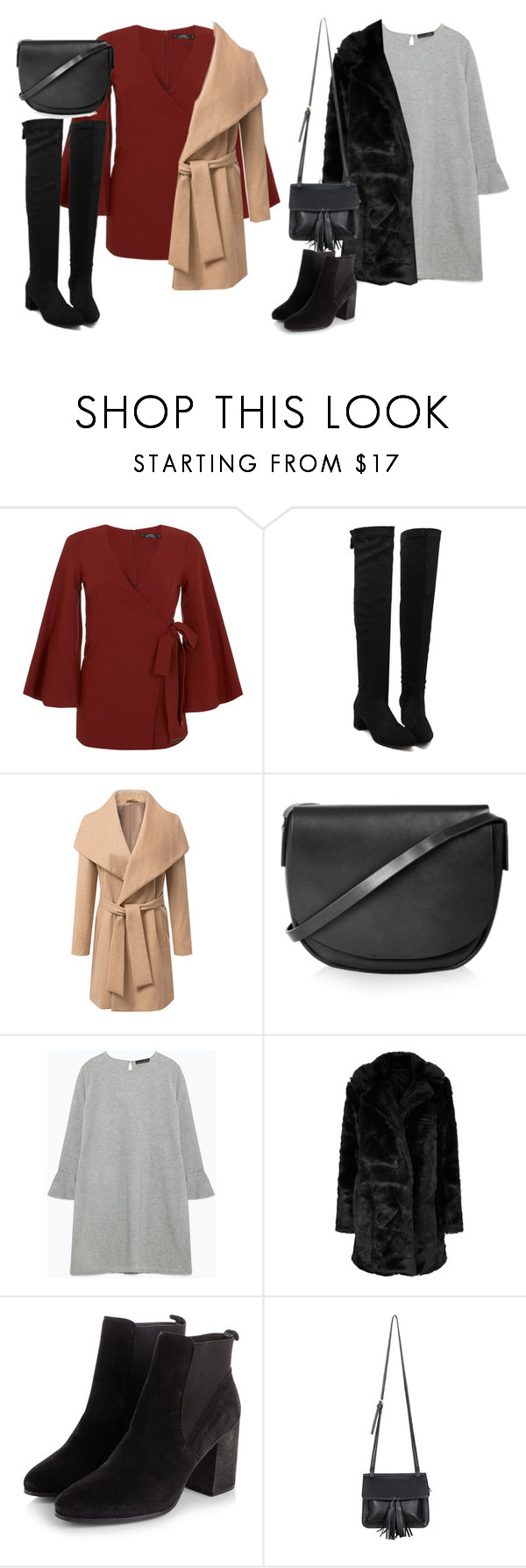 """Christmas Show"" by perrieanddaniellestyle ❤ liked on Polyvore featuring Miss Selfridge, Topshop, Zara, Parisian and Chicnova Fashion"