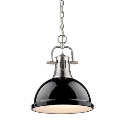 Breakwater Bay Bowdoinham 1 Light Bowl Pendant