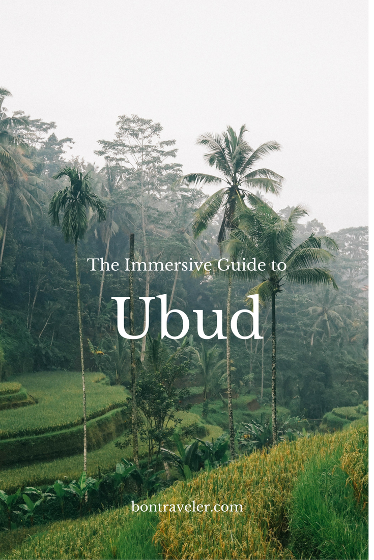 The immersive guide to Ubud Bali
