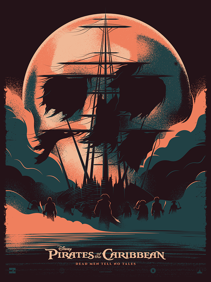 Pirates Of The Caribbean Dead Men Tell No Tales By Thomas Walker