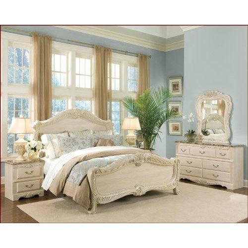 Standard Furniture Panel Bedroom Set Rococo ST-55050SET ...
