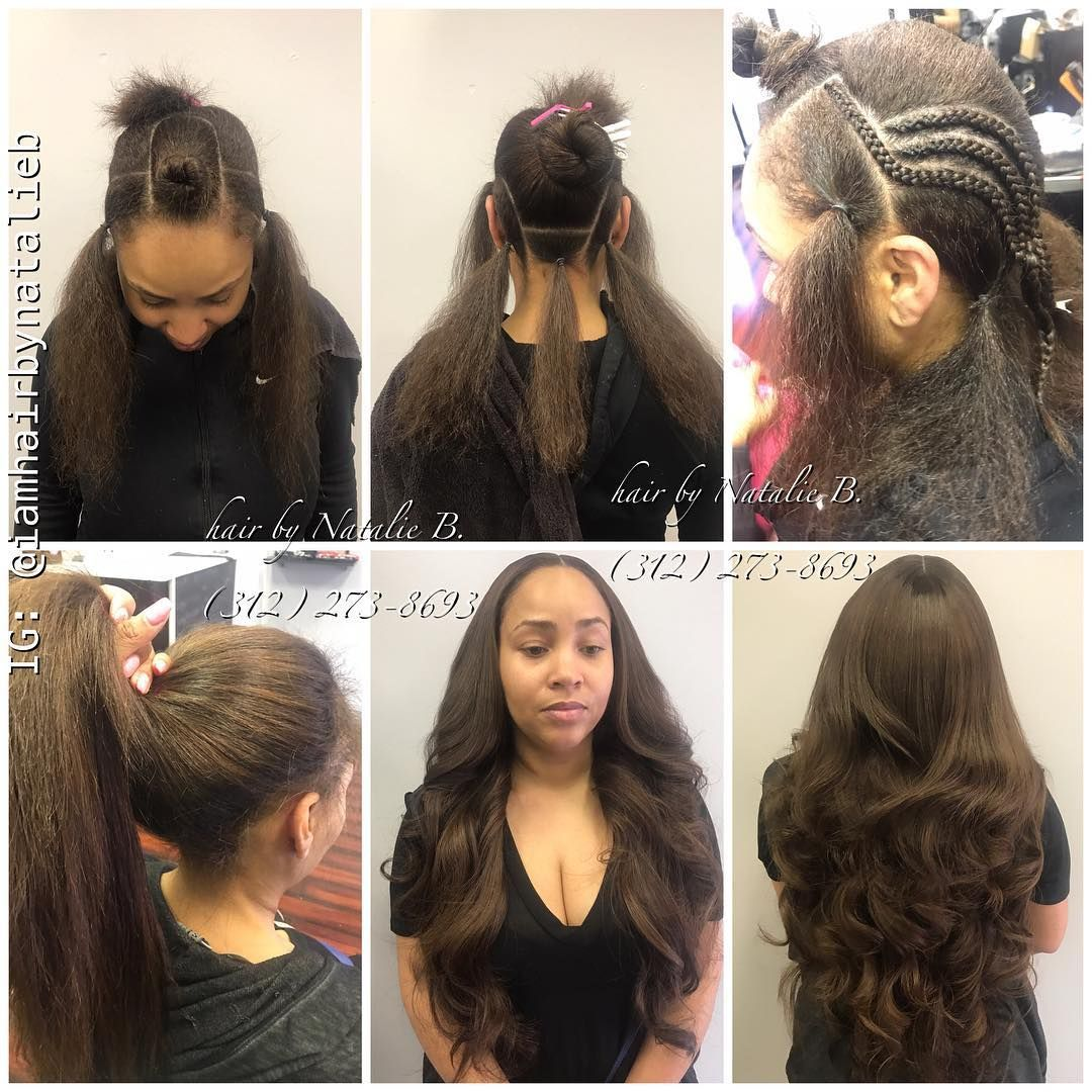 Natural Looking Versatile Sew In Hair Weave Using Iloveindique Hair Extensions Call Or Text Natalie B Weave Hairstyles Hair Styles Long Weave Hairstyles