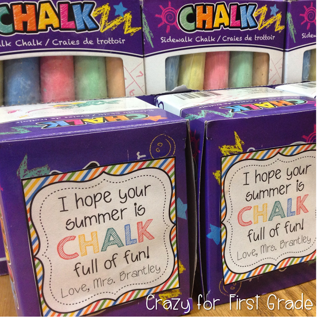 End of the Year Student Gift Idea! (Crazy for First Grade ...