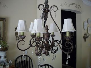 How to add crystals to your chandelier with magnets light fixtures how to add crystals to your chandelier with magnets aloadofball Image collections
