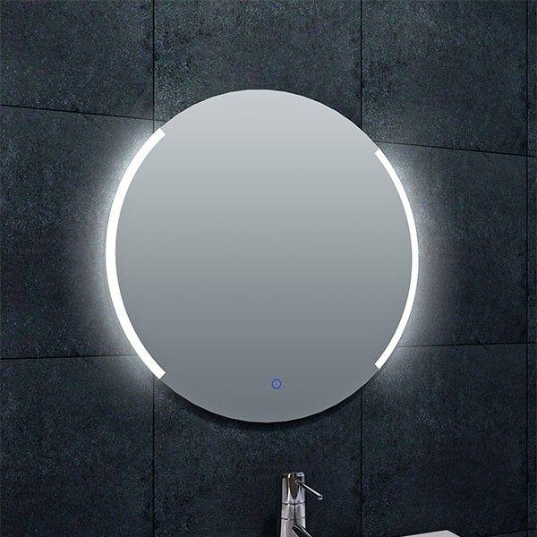Badkamerspiegel Wiesbaden Rond 60x60cm Geintegreerde LED Verlichting ...