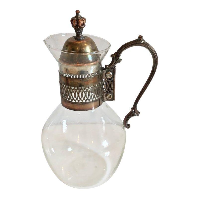 1920s Art Nouveau Juice, Tea or Coffee Server #coffeeserver