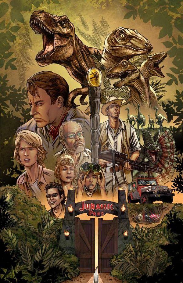 Fan Art Friday 35 Jurassic Park Cool Tattoos Jurassic Park Series Jurassic Park 1993 Park