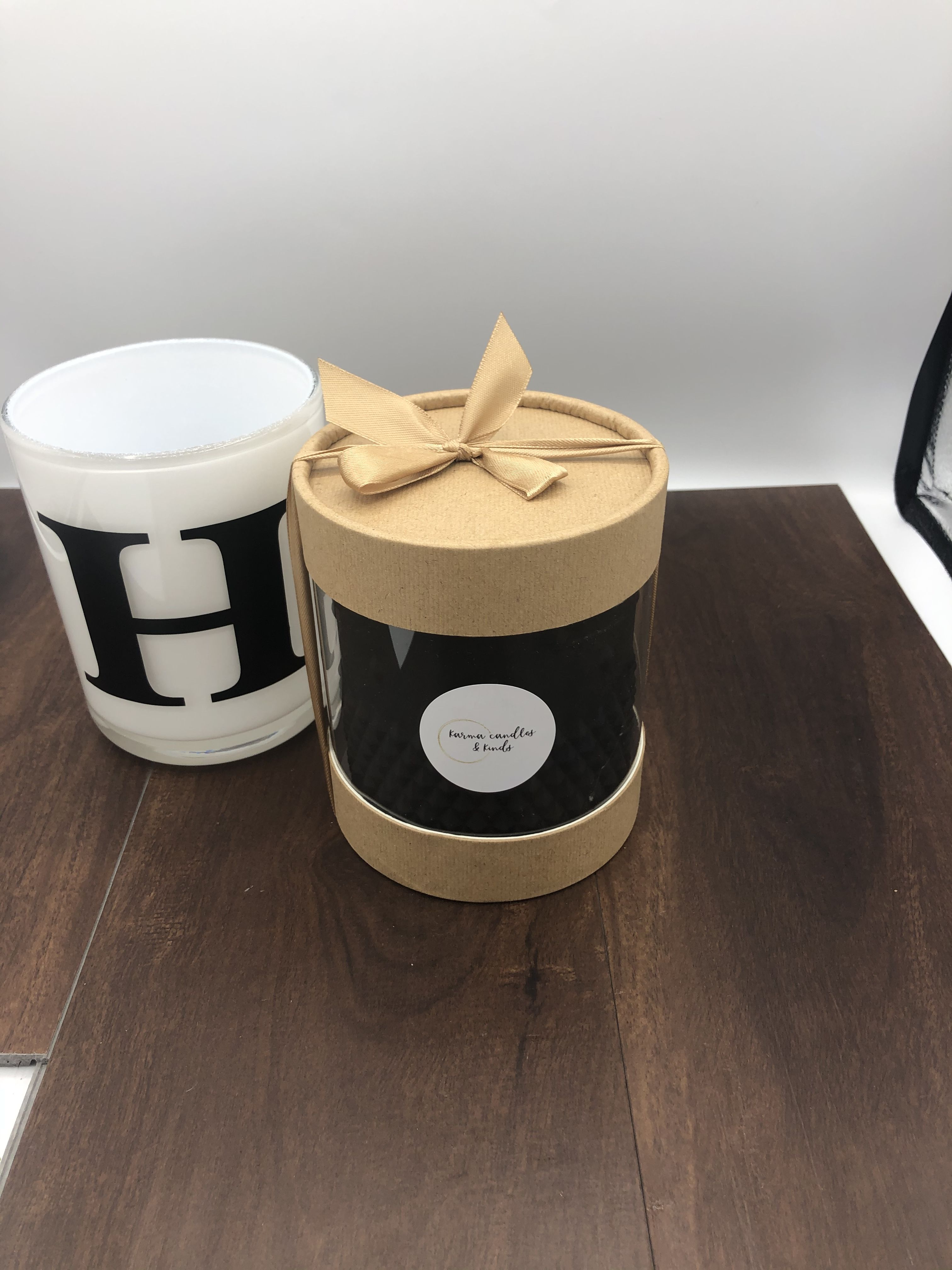 Our initial candles are perfect for birthday presents