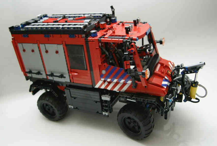 lego unimog fire engine kinder pinterest lego lego feuerwehr und feuerwehr. Black Bedroom Furniture Sets. Home Design Ideas
