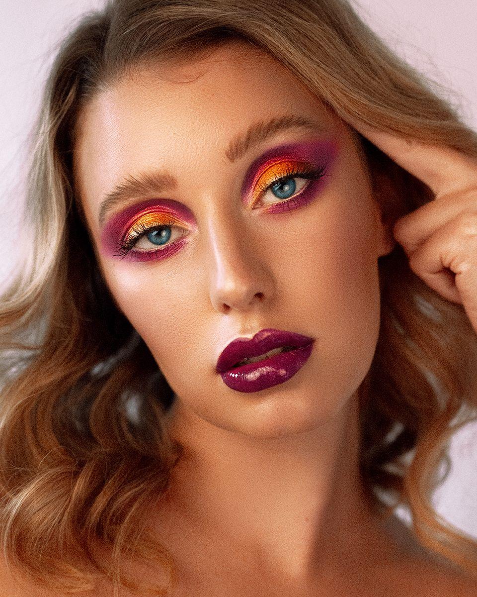 Beauty Makeup Rainbow Eyeshadow by Jaynelle Lording
