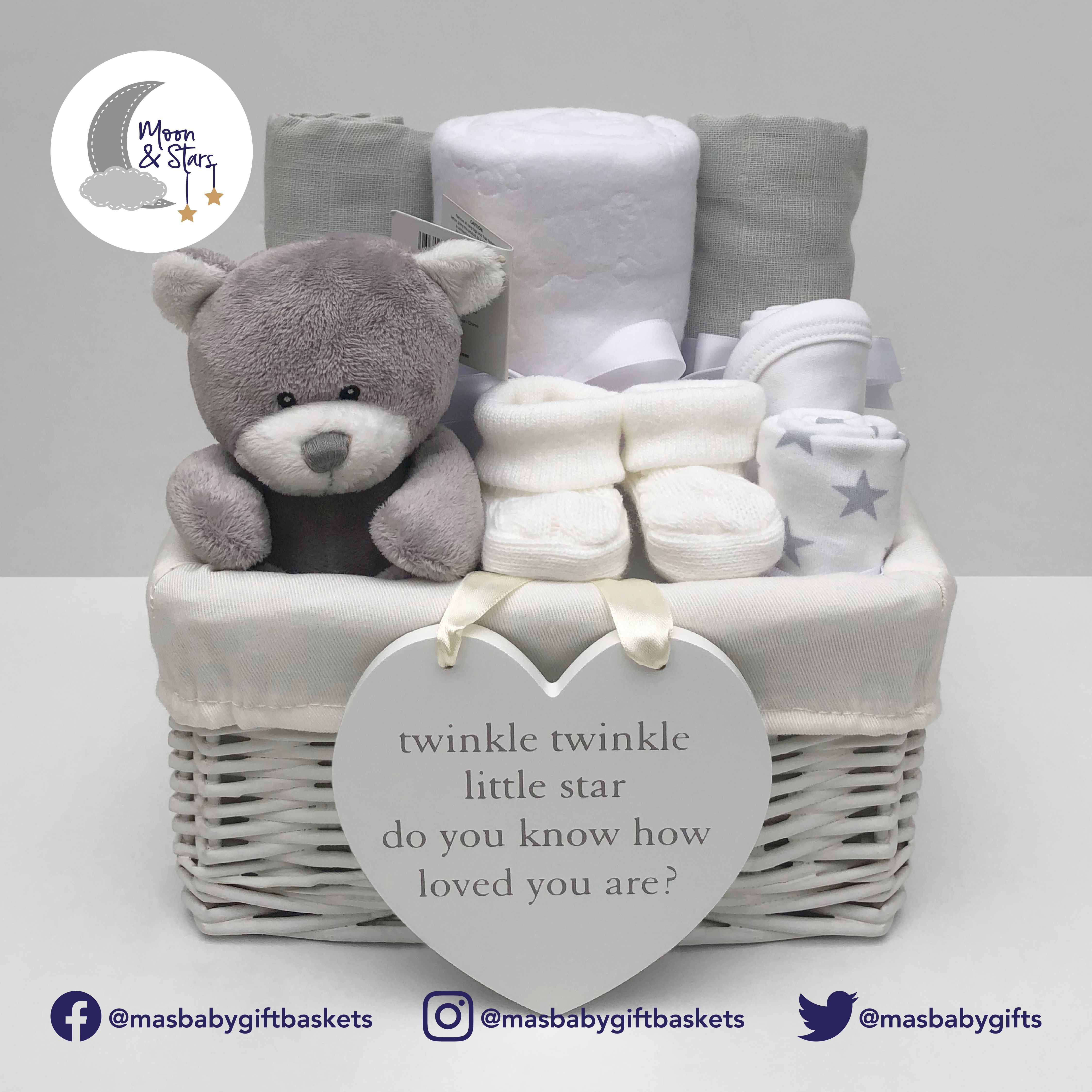 Gender Neutral Baby Gift Basket Each Of Our Gender Neutral Gift Baskets Come With Gender Neutral Baby Gifts Gender Neutral Baby Gifts Basket Neutral Baby Gifts