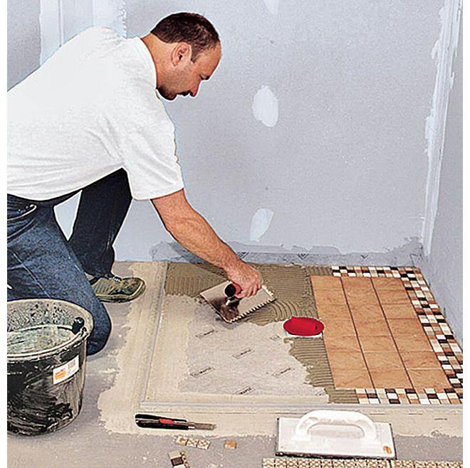 Bodengleiche Dusche selber bauen Idée pour salle de bain