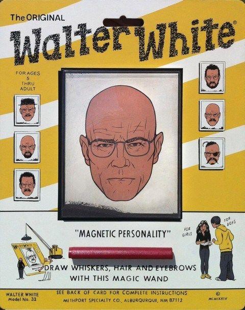 Walter White magnet.