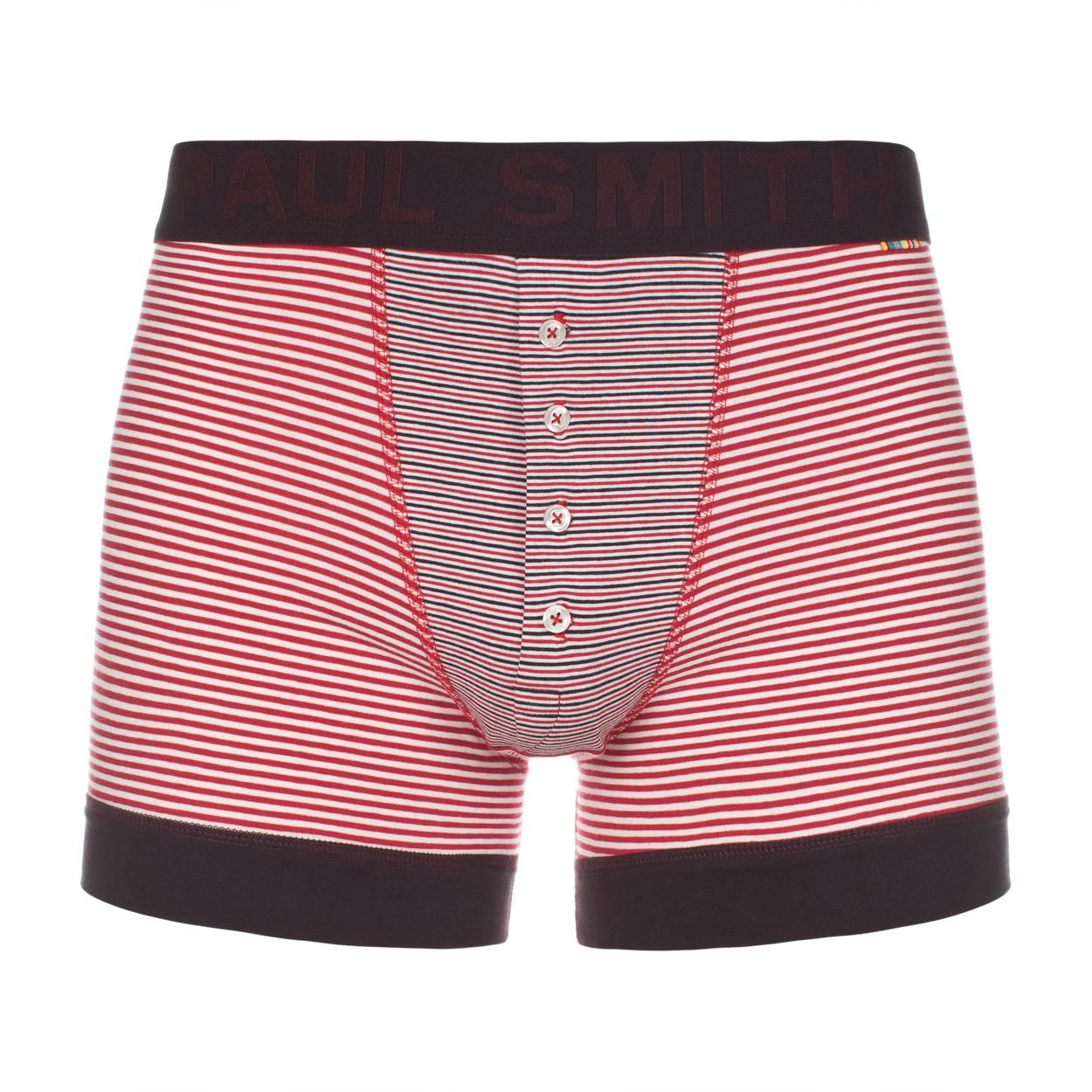 Paul Smith Underwear | Red And White Striped Boxer-Briefs | IDEAS ...