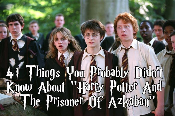 "41 Things You Probably Didn't Know About ""Harry Potter And The Prisoner Of Azkaban"""