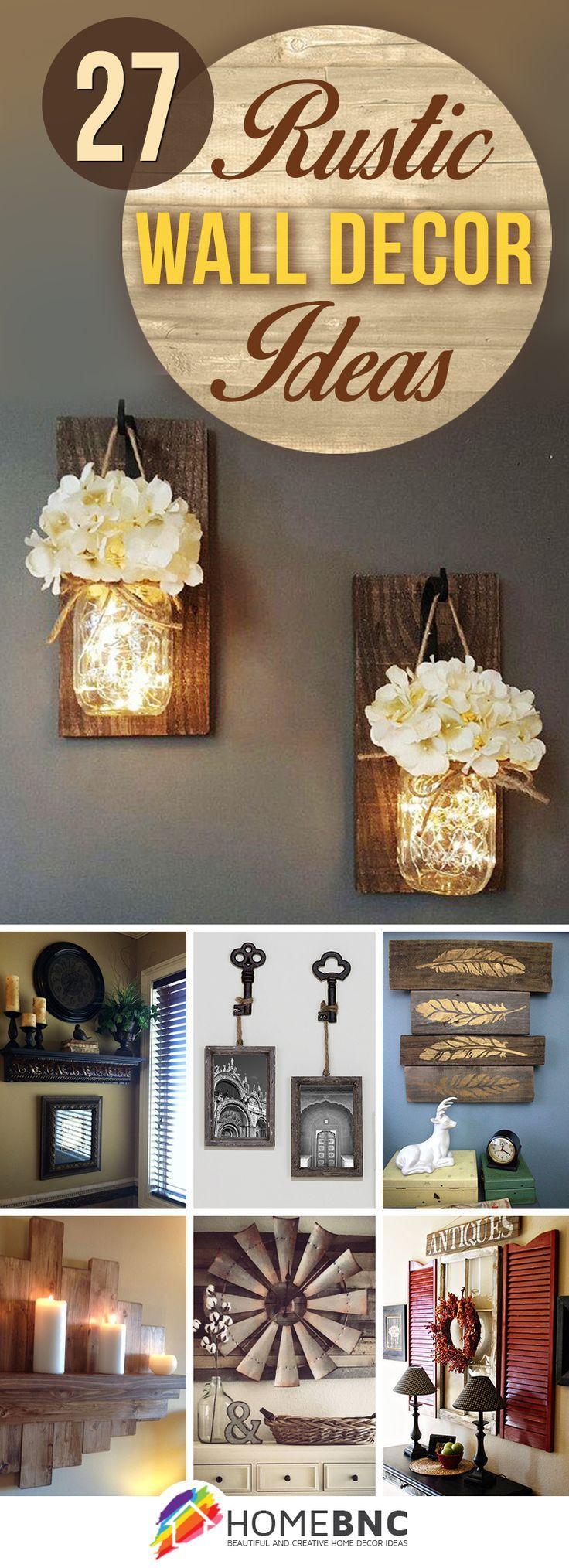 Rustikales badezimmer dekor diy  rustic wall decor ideas to turn shabby into fabulous  rustic