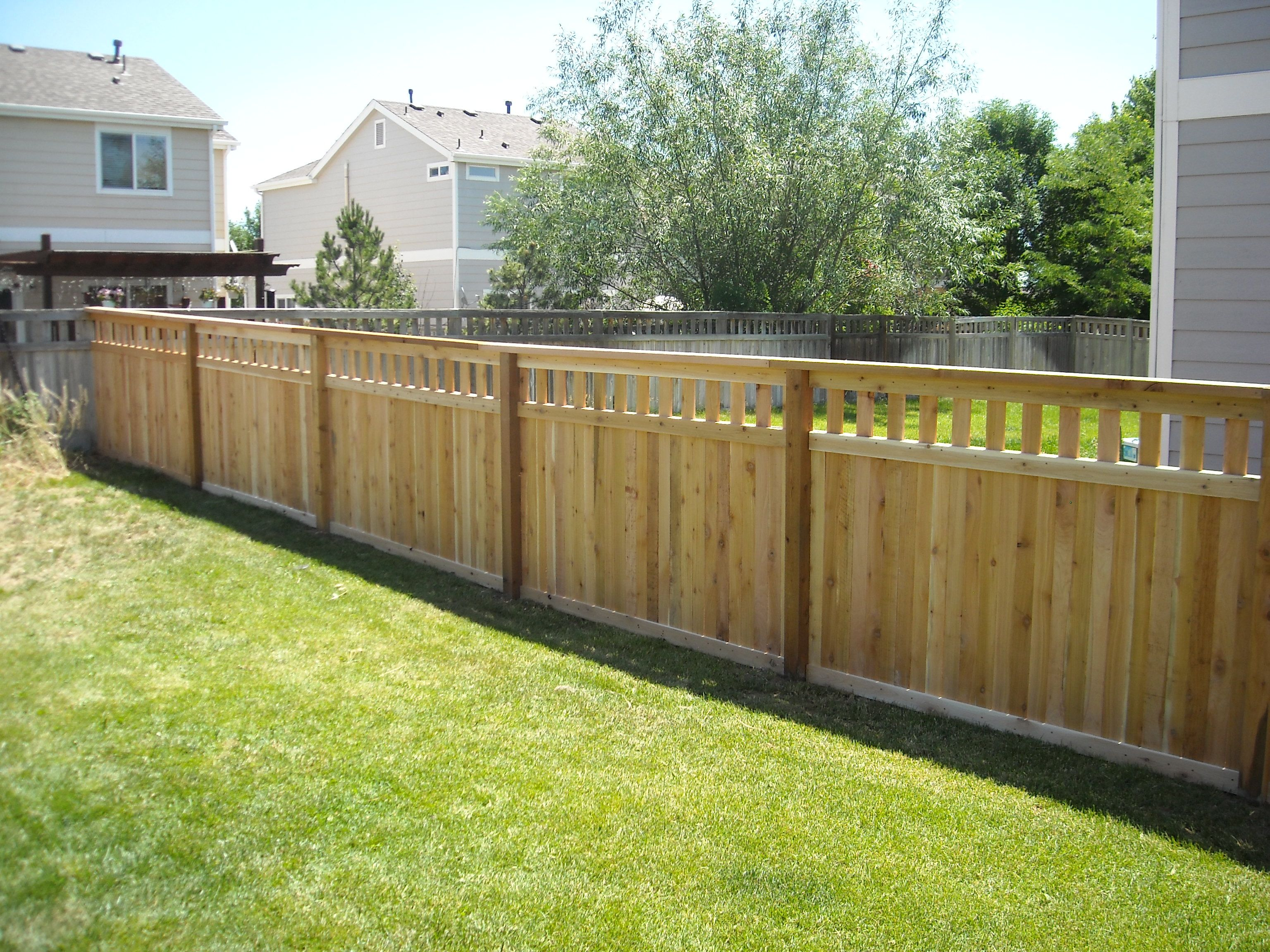 Fence With Open Top Google Search Outdoor Decor Fence Outdoor
