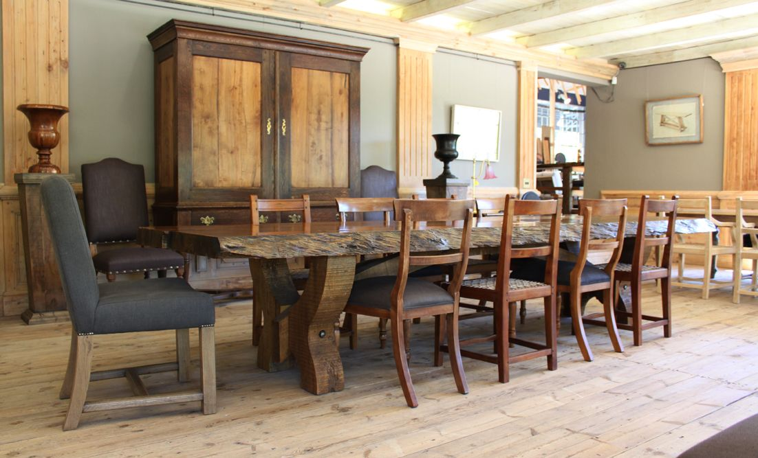Kitchen Table King Street The pierre cronje showroom in wynberg cape town 1 wolfe st the pierre cronje showroom in wynberg cape town 1 wolfe st chelsea village victorian sandveld and hampton chairs surround a chunky hampton table workwithnaturefo