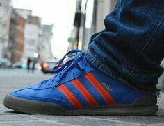 Adidas Jeans II on the street crackin' Dublin colourway