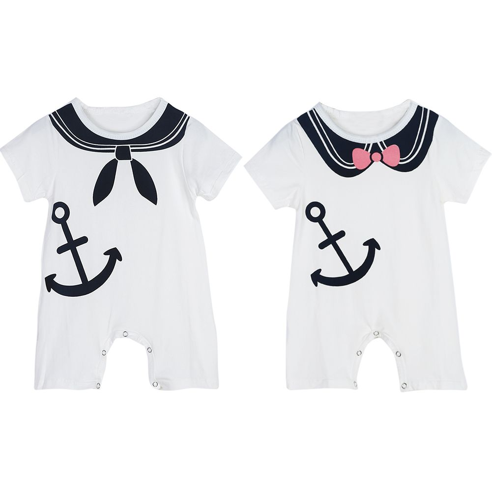 Anchor Cotton Short Sleeve T Shirts for Baby Toddler Infant