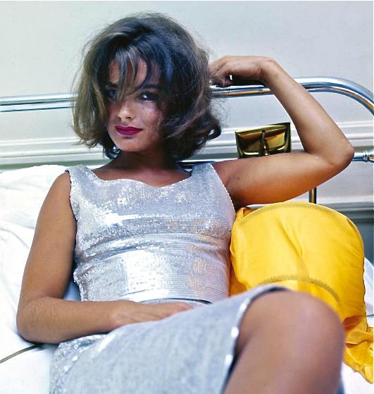 Romy Schneider, Milton Greene, Harper's Bazaar 1963 in ...