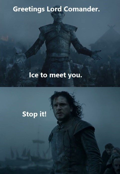 Brace Yourself Puns Are Coming Jon Snow Fantasy Game Of ...