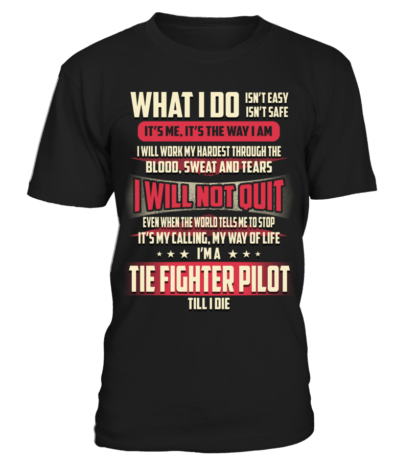 Tie Fighter Pilot - What I Do