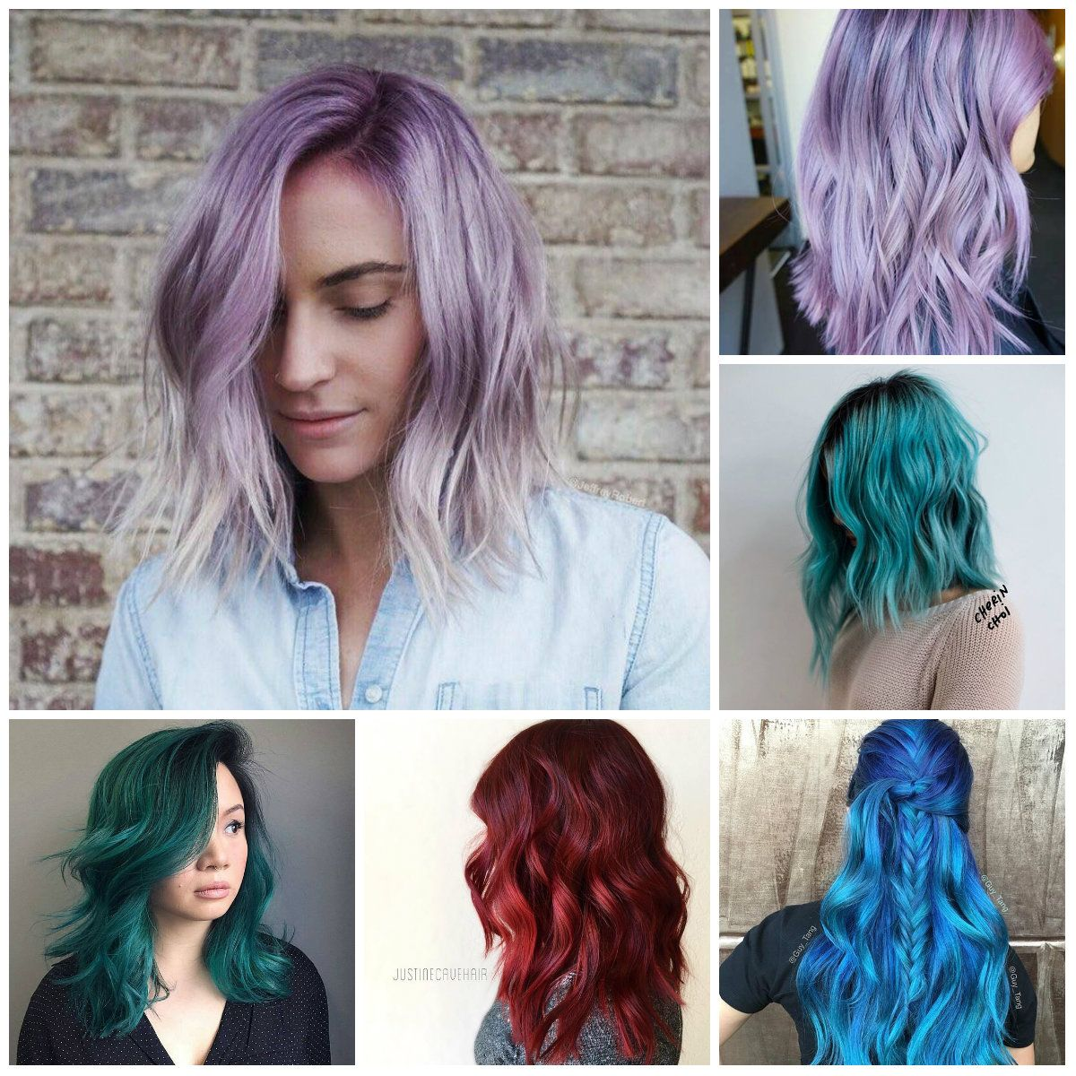 Jewel Toned Hair Color Ideas For 2018 Hair Color Pictures Hair