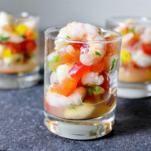 "Food Ideas With Shrimp: ""Very Good... Best Ceviche Recipe I've"